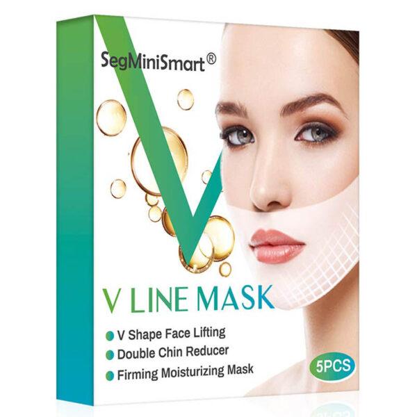 V- Gesichtslifting Maske, V Slimming Maske - Kinn und Wangen, gegen hängende faltige Haut - Verpackung