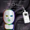 Project E-Beauty - drahtlose 7 Farben LED Maske, Hals + Gesicht, Photon LED Gesichtsbehandlung - Bedienteile