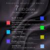 Project E-Beauty - drahtlose 7 Farben LED Maske, Hals + Gesicht, Photon LED Gesichtsbehandlung - Photonen Farbspektren