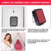 Rotlicht Therapiegerät - Kollagenaufbau, Gewebe-Muskelregeneration, Schmerztherapie - Infrarotlampe Aufstellungsmöglichkeiten