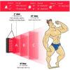 Rotlicht Therapiegerät - Kollagenaufbau, Gewebe-Muskelregeneration, Schmerztherapie - Therapieabstände