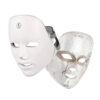 LED Gesichtsmaske - 7 Bandbreiten, Photonenbehandlung bei Akne, Falten, ergonomische Nasenform - Photonenmaske Technik